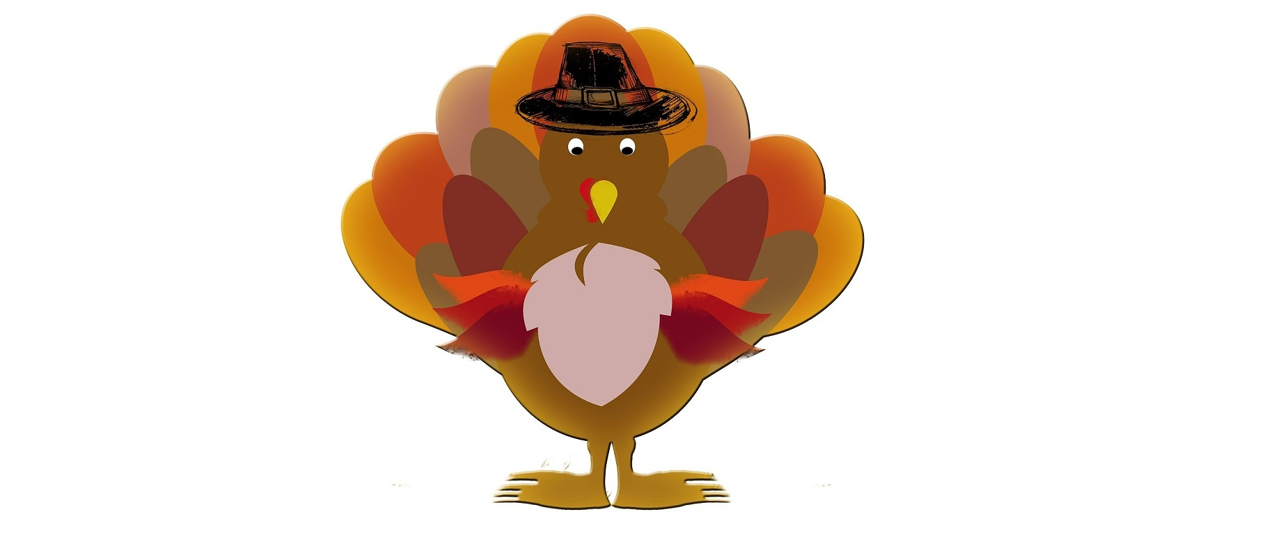 An image of a turkey with a hat