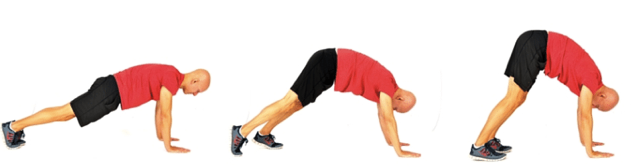 Stretching exercise for back