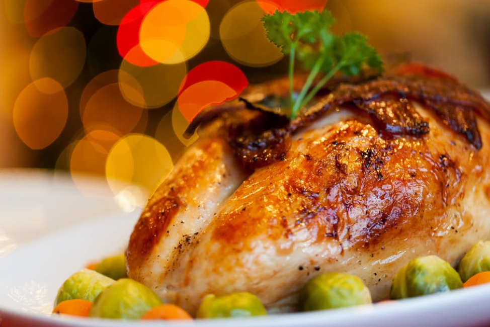 Thanksgiving Turkey with Brussel Sprouts