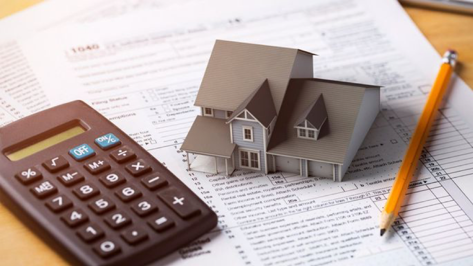 Calculating the property tax