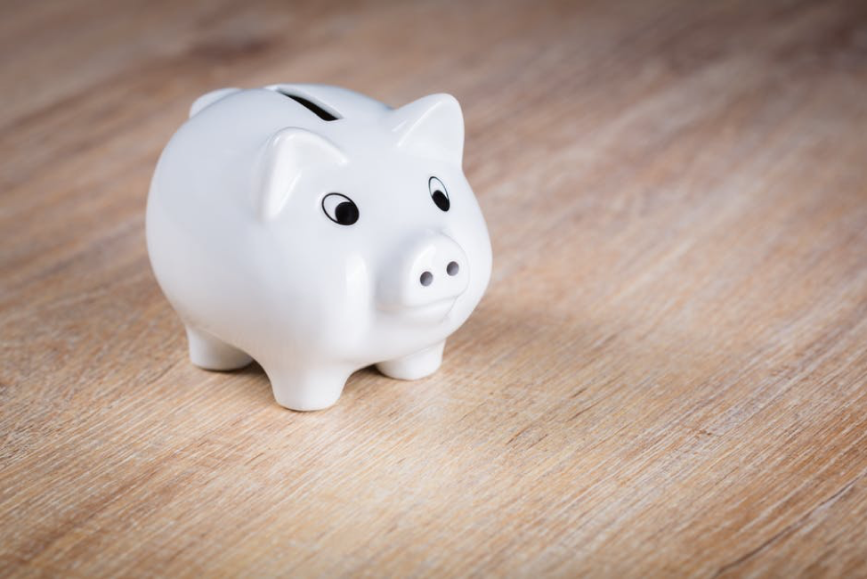 take control of your budget by putting more money into your piggy bank