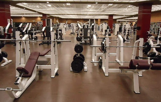 gym machines used for a strength training program