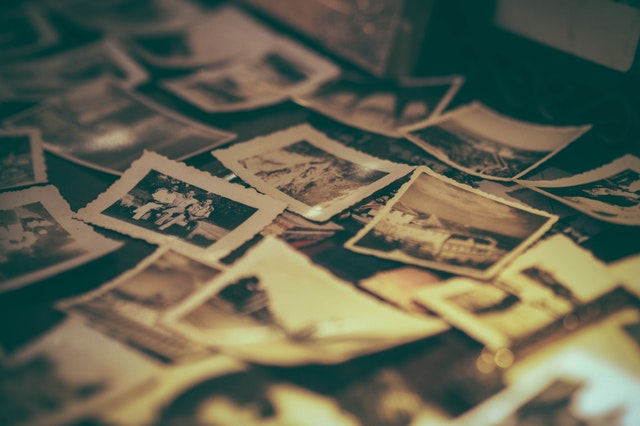 A trip into the past with old photos is another inexpensive date idea