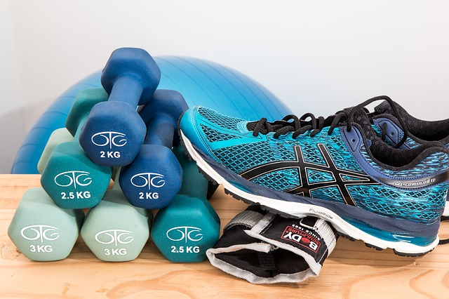 dumbbells for a home workout plan