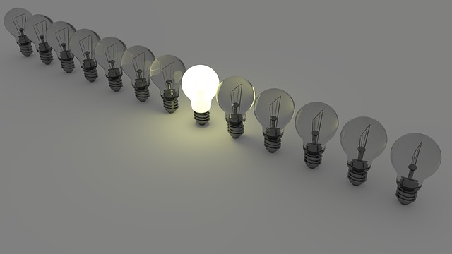 save energy by turning off your lights