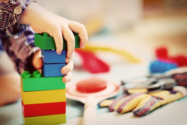 take out toys from a library for budget-friendly activities for kids