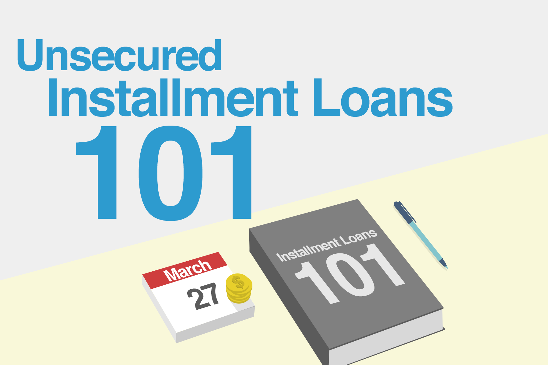 unsecured installment loans 101