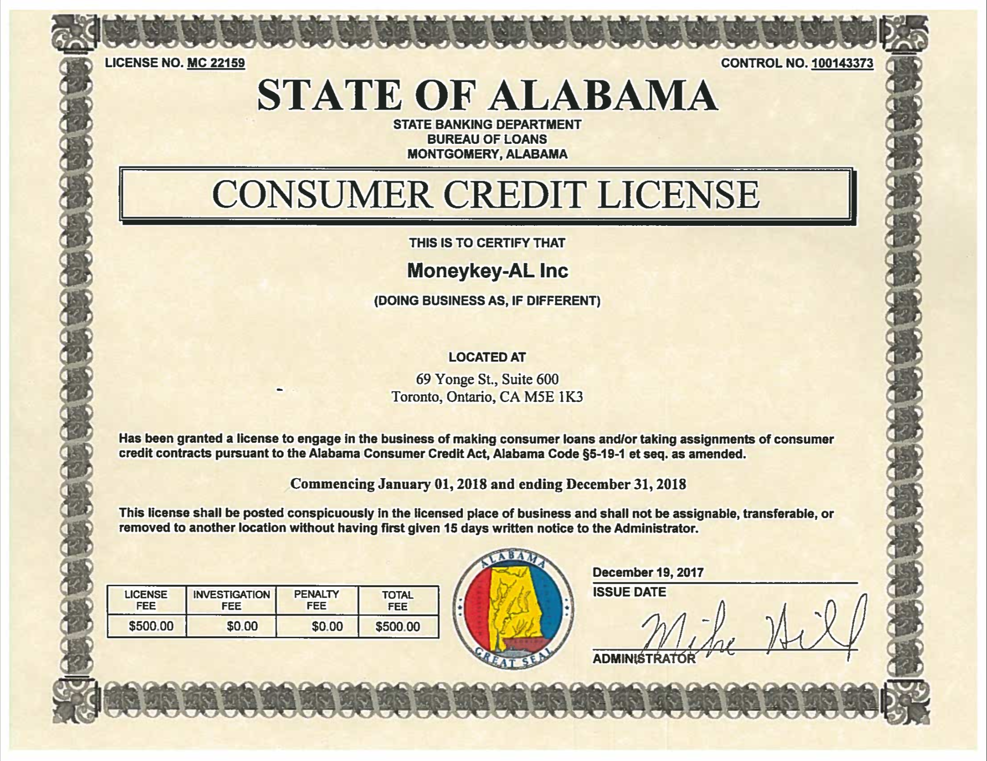 Alabama State Law For Installment Loans