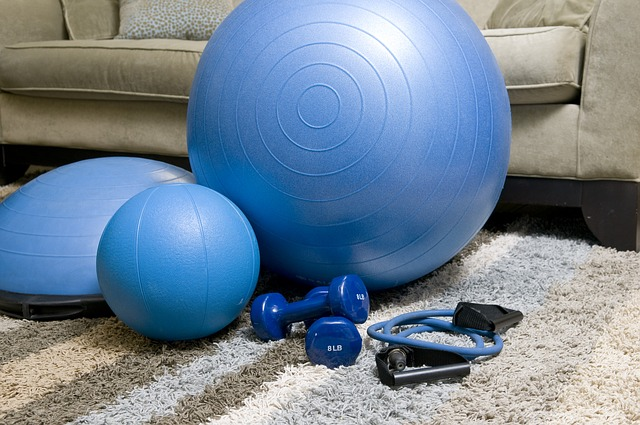 Equipment for a home workout plan